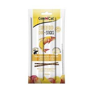 Gimcat Gimcat superfood duo-sticks zalm / mango