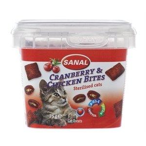 Sanal Sanal cat cranberry & chickenbites cup