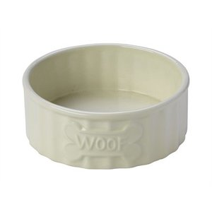 House of paws House of paws voerbak hond woof bot creme