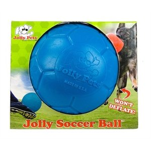 Jolly Jolly soccer ball blauw