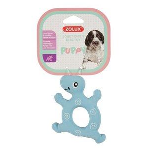 Zolux Zolux puppyspeelgoed latex schildpad blauw