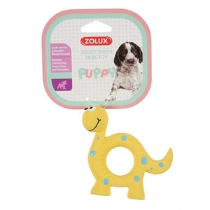 Zolux Zolux puppyspeelgoed latex dino geel