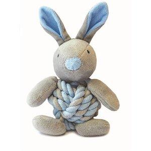 Little rascals Little rascals knottie bunny touwbal konijn blauw