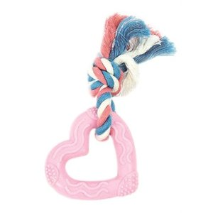 Little rascals Little rascals bijt hart roze / blauw / wit
