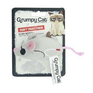 Grumpy cat Grumpy cat blinde muis met catnip