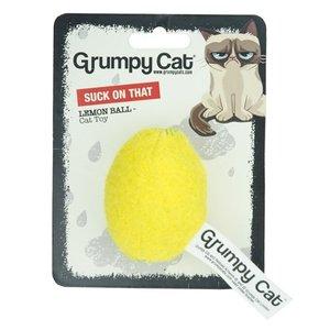 Grumpy cat Grumpy cat citroenbal met catnip