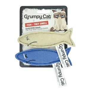 Grumpy cat Grumpy cat sardines met catnip