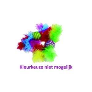 Happy pet Happy pet carnival ratel met veren assorti