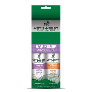 Vets best Vets best ear wash & dry combo pack