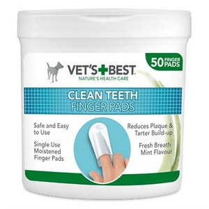 Vets best Vets best clean teeth finger pads