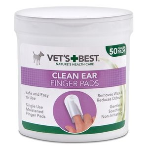 Vets best Vets best clean ear finger pads