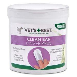 Vets best Vets best clean ear finger pads