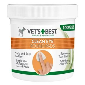 Vets best Vets best clean eye round pads