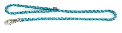 Looplijn voor hond nylon reflecterend blauw 13 mmx100 cm