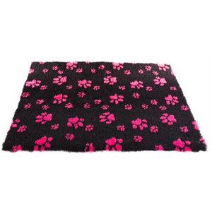 Martin sellier Vetbed poot zwart / roze
