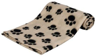Trixie beany fleece hondendeken beige 100x70cm