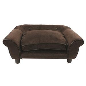 Enchanted pet Enchanted hondenmand sofa cleo pluche bruin