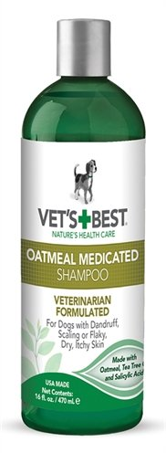 Vets best oatmeal medicated shampoo 470 ml