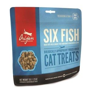 Orijen Orijen cat gevriesdroogd 6 fish snoepjes