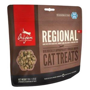 Orijen Orijen gevriesdroogd kattensnoepjes regionals red