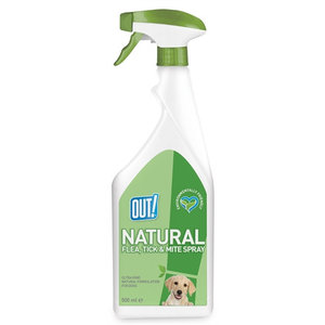 Out! Out! natural flea tick and mite spray