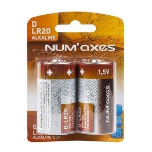 Numaxes Numaxes alkaline batterij d lr20