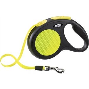 Flexi Flexi rollijn neon tape zwart/geel