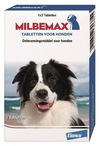 Afbeelding Milbemax Grote hond 2 Tabletten door Online-dierenwinkel.eu