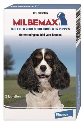 Milbemax Kleine honden en puppies 2 Tabletten