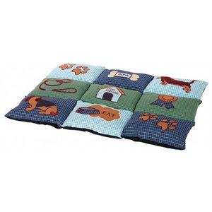 Trixie Trixie hondenkussen patchwork blauw / groen