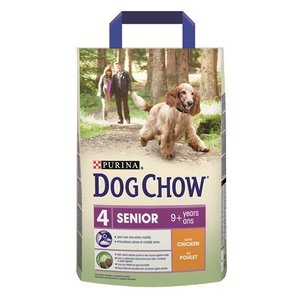 Dog chow Dog chow senior 9+ kip