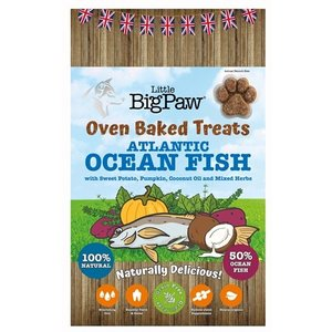 Little big paw Little big paw oven baked treats fish