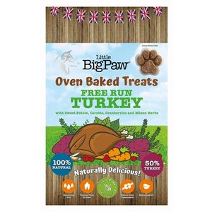 Little big paw Little big paw oven baked treats turkey