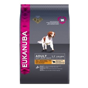 Eukanuba Eukanuba dog adult small/medium breed lamb / rice