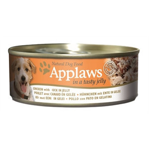 Applaws 12x applaws dog blik jelly chicken / duck