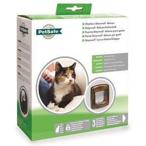 Petsafe Petsafe kattenluik handmatig tot 7 kg houtnerfafw