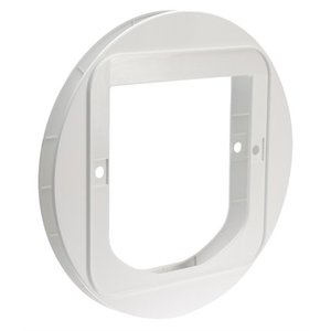 Merkloos Sureflap adapter voor kattenluik wit