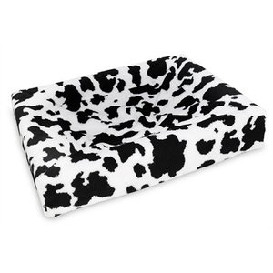 Bia bed Bia bed fleece hoes hondenmand black / white