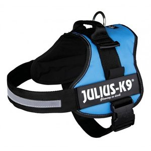 Julius k9 Julius k9 power-harnas / tuig voor labels  lichtblauw