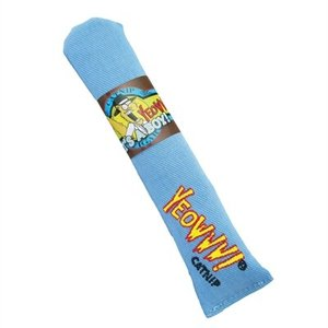 Yeowww Yeowww sigaar met catnip blauw