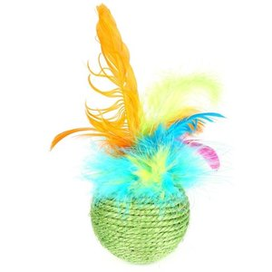 Happy pet Happy pet cat 'n' caboodle tropical feather roller