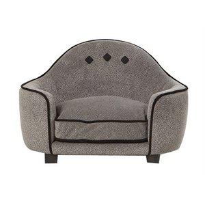 Enchanted pet Enchanted hondenmand sofa pluche donkergrijs