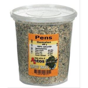 Antos Antos gemalen pens in pot