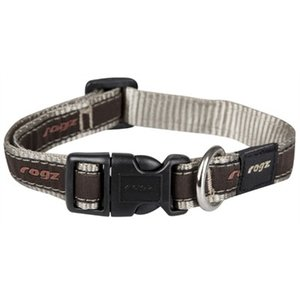 Rogz for dogs Rogz for dogs scooter halsband bronze bone