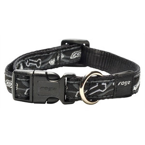 Rogz for dogs Rogz for dogs scooter halsband black bone