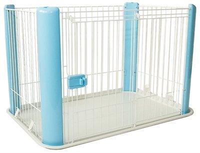 Puppyren blauw zonder dak 92x63x60 cm
