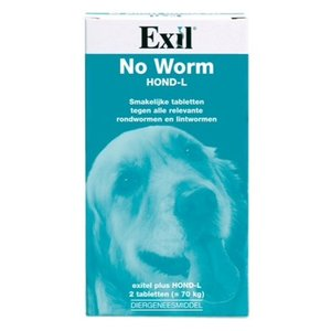 Exil Exitel hond no worm tabletten