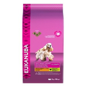 Eukanuba Eukanuba adult medium weight control