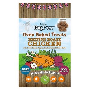 Little big paw Little big paw oven baked treats chicken