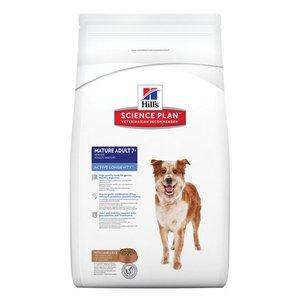 Hill's science plan Hill's canine mature adult active longevity medium lam/rijst